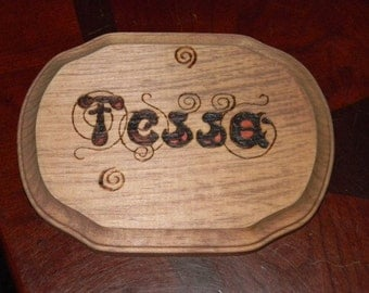 Personalized Name Plaques