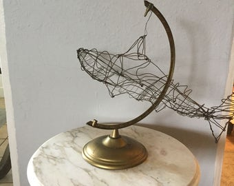 Globe Shark Sculpture