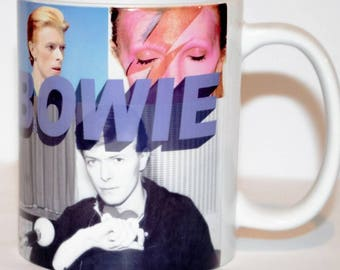 David Bowie coffee mug. Space oddity. Major Tom. Ziggy stardust