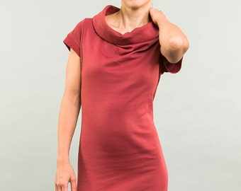 Kolla 2 in 1. short-sleeved. Rusty Red