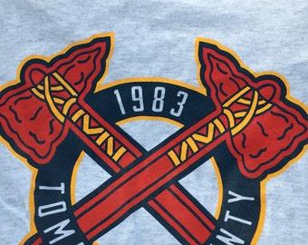 Scent of a Mule/ Atlanta Braves shirt