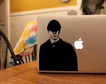 Sherlock Holmes - Vinyl Decal Sticker for MacBook, iPad, or Laptop