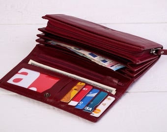 Wallet Leather wallet Leather wallet Womens wallet Leather women wallet Leather coin wallet Clutch wallet Credit card wallet Coin purse