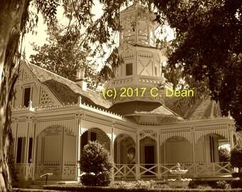 Queen Anne Cottage sepia