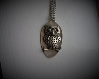 Vintage Spoon Necklace #1215