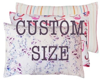 Silk Face Luxury Mulberry Silk Pillowcase - Custom Size Small
