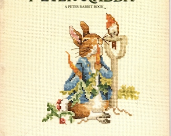 The Tale of Peter Rabbit Cross Stitch Book By Beatrix Potter - Book 549
