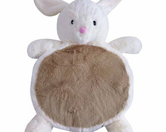 Cute Soft Bunny Animal Plush Play Mats for Baby & Kids Age 0+, Bunny, Baby Shower gifts