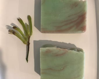 Homemade soap - Australian bush scent