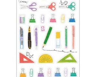 School material Qlia Stickers