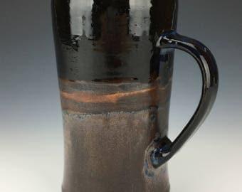 Handmade Beer Mug - Landscape Glaze