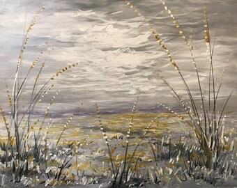 Search For Truth - original oil painting by Farvardin Daliri 106 cm x 81 cm