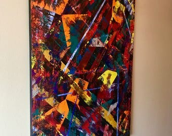 Art-Modern abstract painting