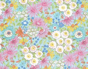 Dena Designs - Meadow - Morning Glory/Free Spirit Fabrics - Sold by the Yard