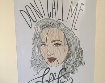 Don't Call Me Dollface Print