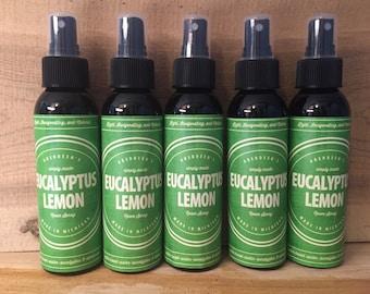Eucalyptus Lemon Room Spray 4oz