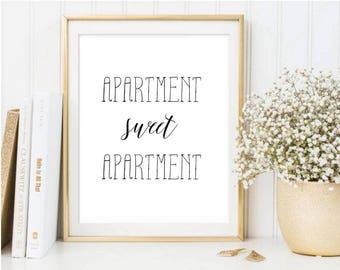 Apartment Sweet Apartment Printable