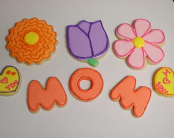 Mother's Day gift cookies