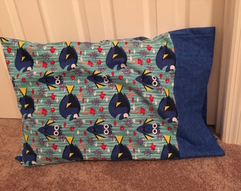 Finding dory flannel pillow case
