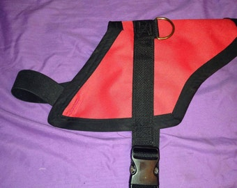 "Stretch-A-Vest"" Elastic chest dog vest"