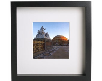LONDON Royal Albert Hall Memorial Kensington square photo print | Use in IKEA Ribba frame | Looks great framed for gift | Free Shipping |