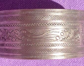 Vintage cuff bracelet.