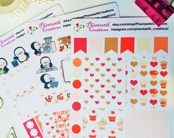 Sweet Cupcakes Mini Weekly Kit Planner Stickers