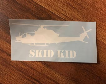 Vinyl Decal AH-1Z Viper 'SKID KID'
