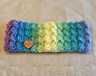 Handmade crochet headband earwarmer