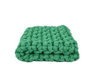 Emerald green throw etsy - Emerald green throw blanket ...