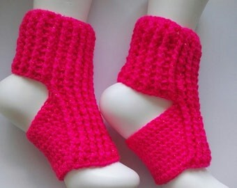 Pink sparkly yoga socks, pilates socks non slip yoga socks yoga feet happy feet