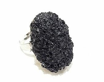 Ring protection salt black Wicca