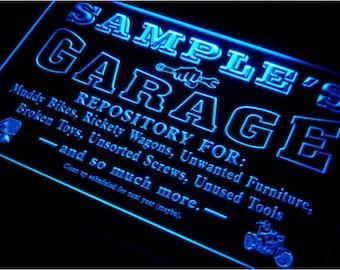 Personalized Garage Sign Custom Garage Sign Garage Gift for Granpa Metal Garage Sign Dads Garage Sign Man Cave Furniture Garage Decoration
