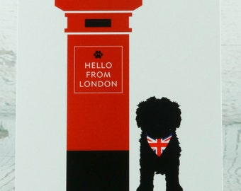 Hello from London - The Red Post Box