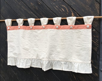 Rustic curtains – Etsy