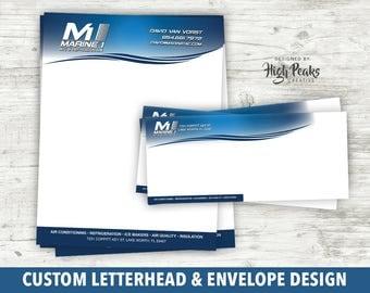 Custom Letterhead and Envelope Design