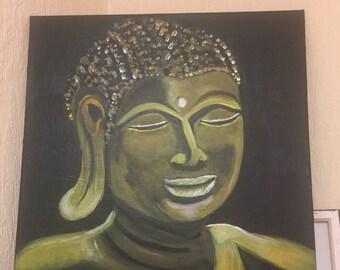 Buddha acyrlic painting
