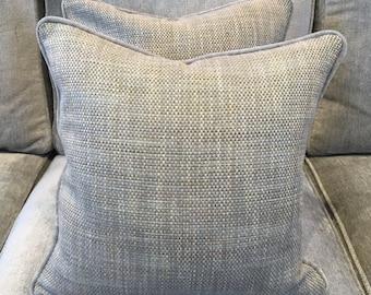 Ian Sanderson Umi fabric covered cushion