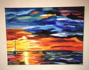 Ocean Sunset - MTO
