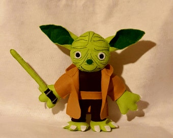 Yoda puppet from Star Wars