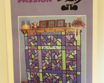Purple Passion quilt pattern by Little Miss Sloppy