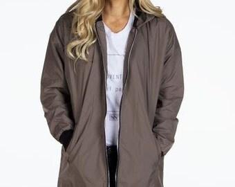 Long Bomber Jacket | Signed Noelle |