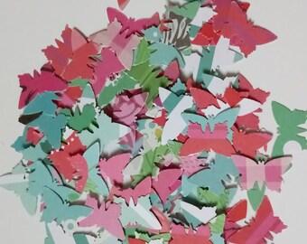 Handmade vintage style butterfly wedding confetti