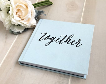 8x8 ILLUSTRATED Cover Custom Designed Wedding Album