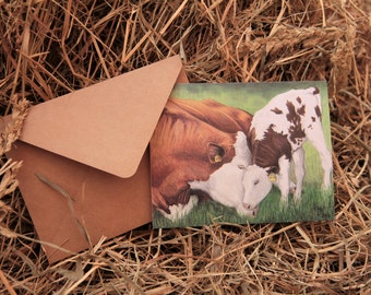 Cattle Note Cards (Set of 10)