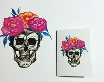 Skull A4 Art Print