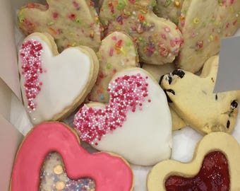 Box of assorted biscuits & cookies