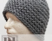 CROCHET PDF PATTERN: Textured Beanie guy men teen boy