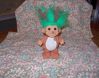 Russ brand Reindeer Troll doll