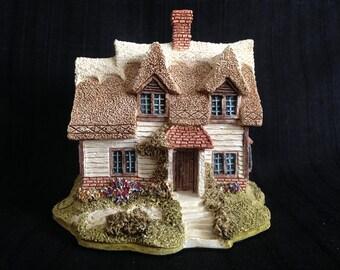 "Lilliput Lane Cottage, Ash Nook, 1989, 3""L x 3""W x 2.5""H"